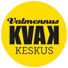 Valmennuskeskus KVAK -logo. Visuaalinen toteutus vapaaehtoistyönä ammattitaidon ylläpitämiseksi. Natasha Varis, 2015.
