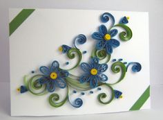 Quilling+Greeting+Card++Handmade+Thank+You+Card++by+stoykasart,+$5.20