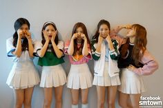 Red Velvet is sad that promotions of Ice Cream Cake have come to an end....