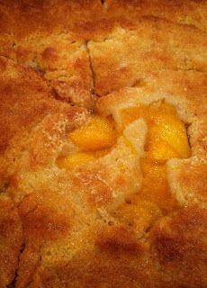 Simply Homemade: Simply Dad's Homemade Peach Cobbler