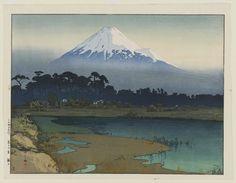Hiroshi Yoshida (1876-1950). Sunrise (Asahi), from the series Ten Views of Mount Fuji (Fuji jukkei) 1926 | Museum of Fine Arts, Boston