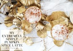 My extremely simple pumpkin spice latte is exactly what it sounds like. It is my version of a pumpkin spice latte, so simple, healthy, yummy. Pumpkin Spice Latte, A Pumpkin, Stuffed Mushrooms, Spices, Drinks, Simple, Blog, Life, Spice
