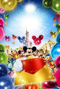 It's a Disney invitation!