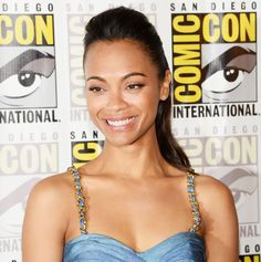 Beauty Queen: Zoe Saldana (July 2013)