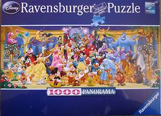 ravensburger jigsaw puzzles | Disney Ravensburger 1000 pc Jigsaw Puzzle - GROUP PHOTO - New and Used ...