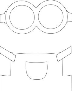 minion cut out template - Google Search: | etkinliikler | Pinterest ...