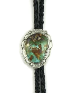 Southwest Silver Gallery features a beautiful, genuine, green Royston turquoise bolo tie by Navajo artist, Joe Piaso Jr. Turquoise Stone, Turquoise Jewelry, Turquoise Bracelet, Silver Jewelry, Fine Jewelry, Bolo Tie, Yellow Gold Rings, Native American Jewelry, Luxury Jewelry