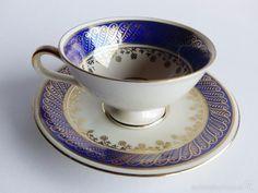 Taza de té de colección. Mitterteich, Bavaria, Alemania 1950 - Foto 1