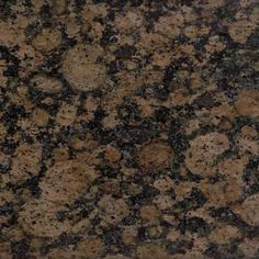 Baltic Brown Granite - I love this. Will it go with red?
