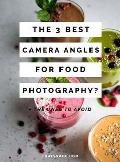 The 3 Best Camera Angles for Your Food Photography (+ What to Avoid!) - - The camera angles you use have just as much impact on your food photography as the rest of your food styling. Learn which ones you should use and avoid. Food Photography Props, Dslr Photography Tips, Photography Lessons, Digital Photography, Product Photography, Landscape Photography, Photography Lighting, Photography Awards, Iphone Photography