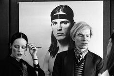Andy Warhol (1928-1987) und Jane Forth, 1971 © bpk/Digne Meller Marcovicz