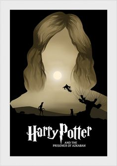 Prisioneiro de Azkaban - Harry Potter - Livros | Posters Minimalistas