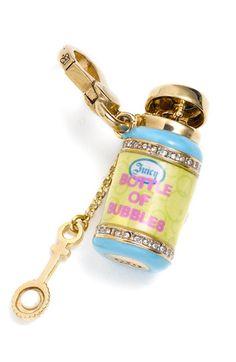 Bottle of Bubbles Charm