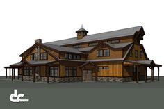 Custom Blueprints for Barn Home in New Hampshire