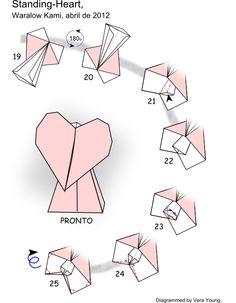 Origami Love Birds CardsOrigami Greeting CardsHandmade