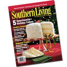 Southern Living Cover Recipes | Lemon-Coconut Cake | SouthernLiving.com