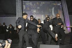 Nelly hosted his 7th annual Black and White Ball with special guests special guests Steven Jackson of the St. Louis Rams and music producer and DJ Jermaine Dupri at the St. Louis Science Center. Photo Credit: DIANE ANDERSON