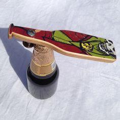 Recycled skateboard #7 bottle opener on Etsy, 13,38€