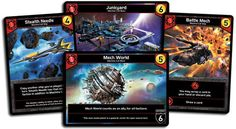 Star Realms | Various Machine Cult cards.