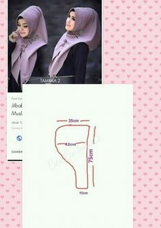 Kerudung Abaya Pattern, How To Wear Hijab, Hijab Style Dress, Turban Hijab, Sewing Blouses, Kids Gown, Sewing Pants, African Fashion Ankara, Techniques Couture