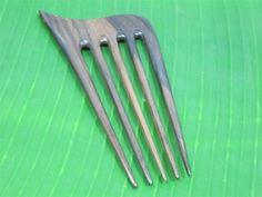 set 2 wooden hair comb 5 prongs by Leginayba on Etsy, $6.99