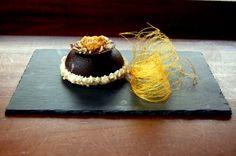 les desserts du jeudi: Dôme de chocolat au coeur de caramel coulant - Cho...