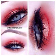 this looks good for blue eyes to make them pop