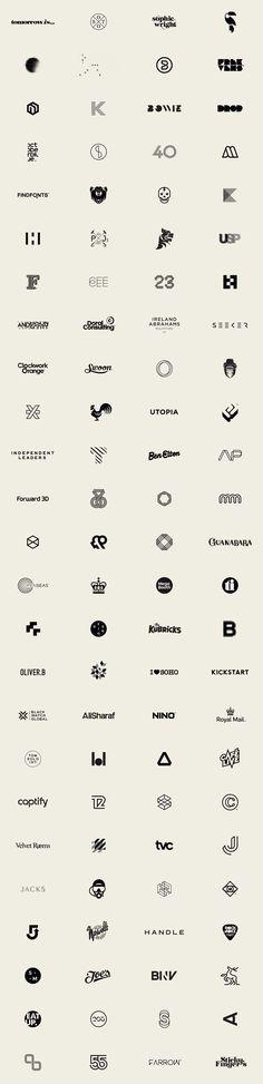 100 Logos by Mash Creative: