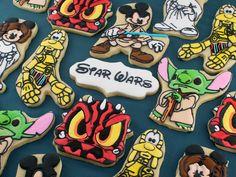 disney star wars cookies...Yoda Stich is my favorite!