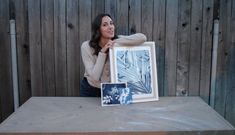 Cyanotypes (aka sun prints or blue prints), are a an early form of printmaking that was popular in the While we don't use them in high demand much anymore, they have proved to be awesome for more than 200 years AND, you can do them in your own back yard! Sun Prints, Home Stuck, Wood Scraps, Cyanotype, Kits For Kids, Construction Paper, Clothes Line, Old Paper, Christmas Lights