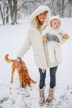First (Real) Snow - Barefoot Blonde by Amber Fillerup Clark