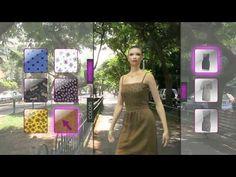 OptiTex - Eva changing dresses