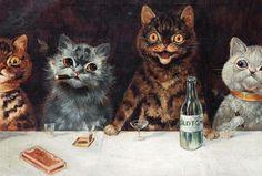 The Astounding Art Of A Schizophrenic Cat Lover image