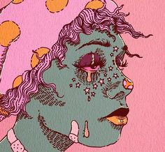 Pretty Art, Cute Art, Art Sketches, Art Drawings, Arte Indie, Arte Sketchbook, Hippie Art, Hippie Drawing, Wow Art