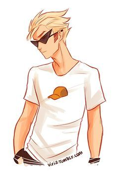 DIRK STRIDER!!! :3<<<this is a really cool drawing