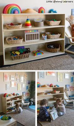 Our Play Room Tour Toy Rooms play Room Tour - Popular Toddler Daycare Rooms, Childcare Rooms, Preschool Rooms, Toddler Classroom, Home Daycare Rooms, Childcare Environments, Kids Rooms, Kids Daycare, Preschool Classroom Layout