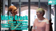 #CMTV Thought Leader Interviews - Vicky Brock CEO of Clear Returns speak...