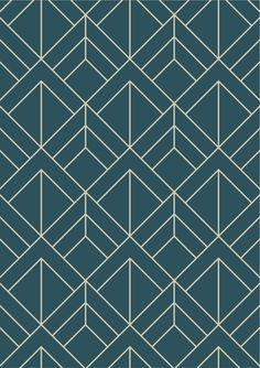 Geometric Art Deco Seamless Pattern