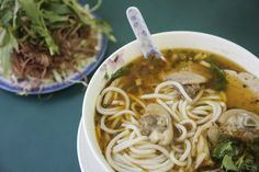 Pho typically takes precedence at Portland's noodle soup galaxy, but at Bun Bo Hue Restaurant, a Vietnamese dive with barred windows found deep in Southeast, you order the bun bo hue.