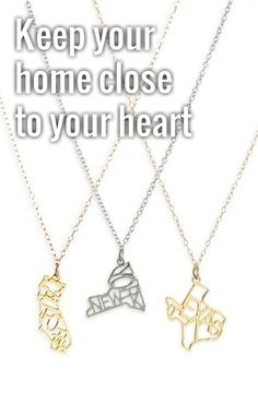 Kris Nations State Pendant Necklace | Nordstrom