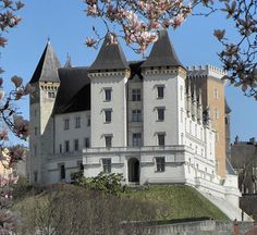 Château de Pau, Pau, Pyrénées-Atlantiques, France  http://www.castlesandmanorhouses.com/photos.htm  The Château de Pau is a castle in the centre of Pau, the capital of Pyrénées-Atlantiques and Béarn. The château is located in the centre of Pau and dominates that quarter of the city.  King Henry IV of France and Navarre was born here on December 13, 1553. The castle has a small garden that was tended by Marie Antoinette when she spent much of the summer in the city.