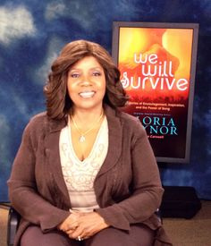 Music legend Gloria Gaynor is in the studio today! #WeWillSurvive