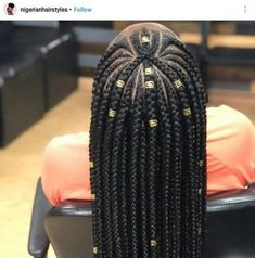 Braids Cornrows with Beads for Adults Super Cool Cornrows Braids African Braids Hairstyles, Girl Hairstyles, Protective Hairstyles, Hairstyles 2018, Weave Braid Hairstyles, Teenage Hairstyles, African Hair Braiding, African Hairstyles For Kids, Marley Twist Hairstyles