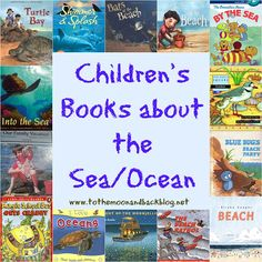 Poppins Book Nook #5- When the Tide is Low (Beach/Ocean Themed Crafts and Books) - To the Moon and Back