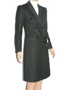 12a90fd505f Dolce Gabbana 100% Virgin Wool Classic Coat 38 Review Buy Now
