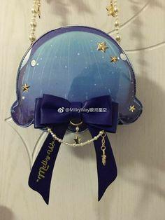 Kawaii Accessories, Bag Accessories, Solar System Watch, Kawaii Bags, Disney Purse, Beautiful Long Dresses, Barbie, Japanese Street Fashion, Little Twin Stars