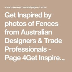 Get Inspired by photos of Fences from Australian Designers & Trade Professionals - Page 4Get Inspired by photos of Fences from Australian Designers & Trade Professionals - Page 4 - Australia | hipages.com.au