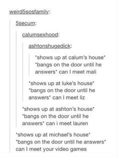 One direction imagines bsm youre hookup a member of 5sos