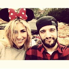 Emma and Mark having fun in Disney World, DWTS Live Tour  2014.