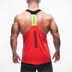 New Brand Shark Mens Tank Tops Stringer Bodybuilding Fitness Men's Tanks Clothes Gymshark Singlets